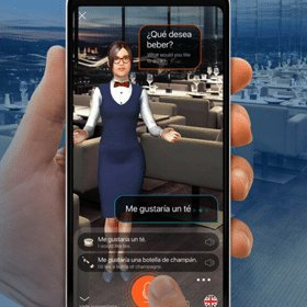Mondly AR Language Translation App