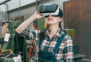 Virtual Reality Training and Induction